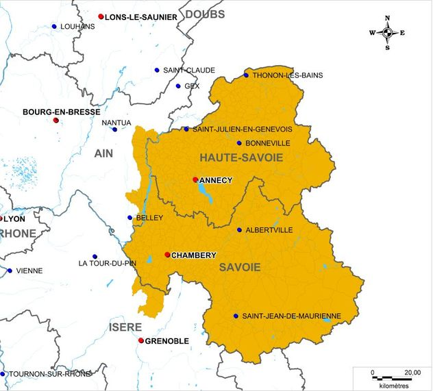 La Raclette de Savoie est produite sur les 2 Savoie